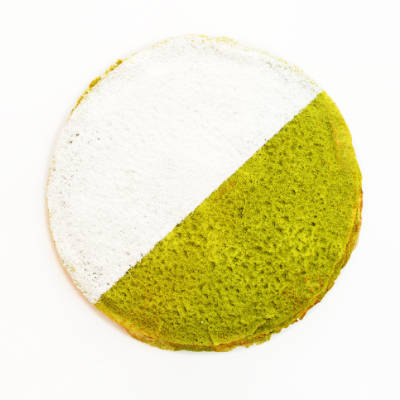 Matcha Mille Crêpe Cake